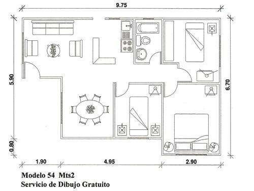 Planos de casas para maquetas - Como hacer un plano de una casa ...