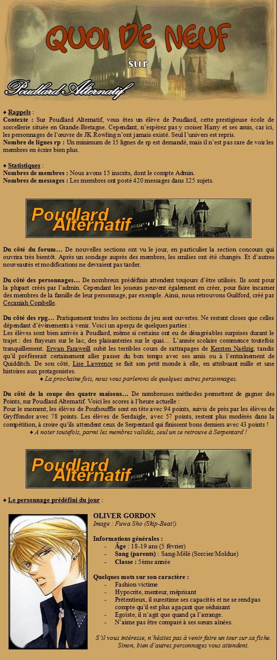 « POUDLARD ALTERNATIF. Fiche-news1-25e3c2f