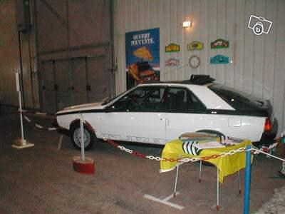 1982 Renault Fuego Turbo. Renault Fuego Turbo Blanche